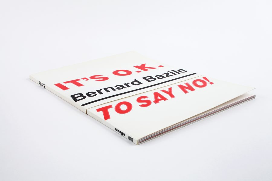 bernard bazile <br>it&rsquo;s o.k to say no! - IMG_5146.jpg
