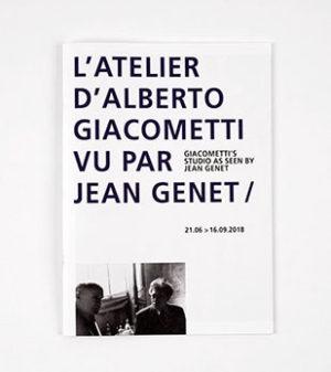 l'atelier d'alberto giacometti<br>vu par jean genet