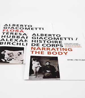 giacometti / histoire de corps<br>flora / Hubbard & Birchler