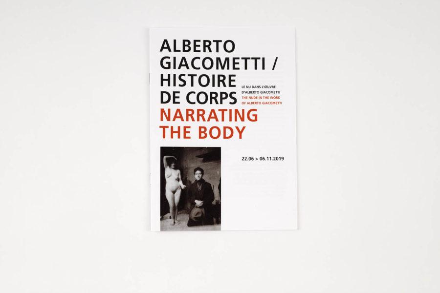giacometti / histoire de corps<br>flora / Hubbard & Birchler - 031A0014_DxO-Page.jpg