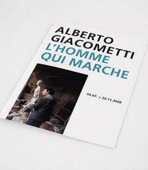 ALBERTO GIACOMETTI<br>L'HOMME QUI MARCHE